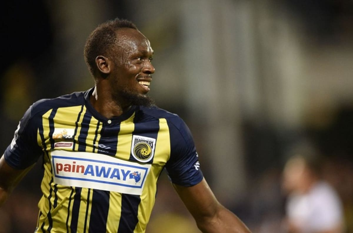 cf782301105 Usain Bolt Scores Two Goals in First Pro Soccer Match as a Starter ...