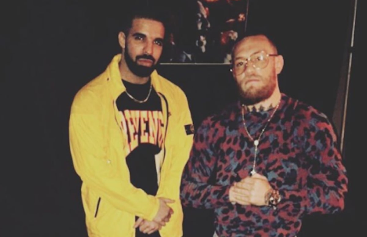 Here's How Drake Played a Role in Conor McGregor Signing a ...