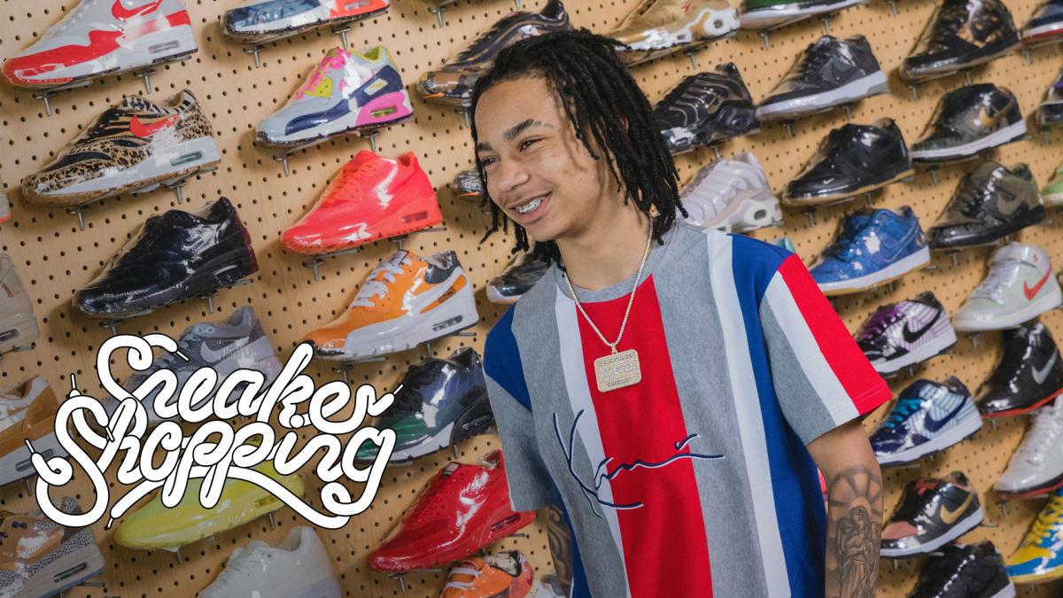 6cb7aa24b YBN Nahmir Goes Sneaker Shopping With Complex