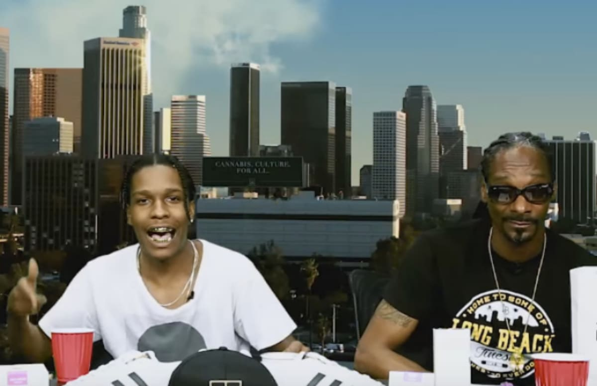 """ASAP Rocky and Snoop Dogg Flex Their Freestyle Skills Over Mobb Deep's """"The Realest"""""""