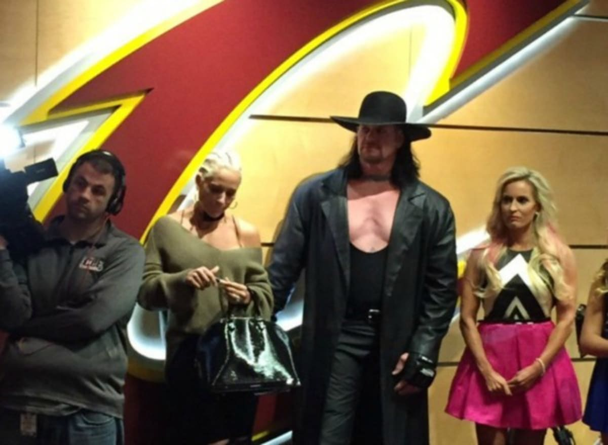 The Undertaker Came To The Cleveland Cavaliers Championship Ring
