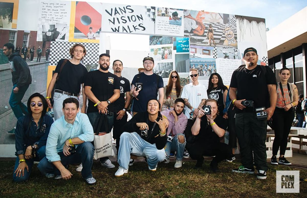 Vans Hosted Four Special Vision Walks at ComplexCon  c6fc51a97