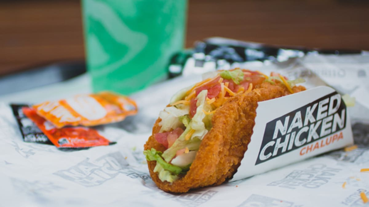 Review: Taco Bells Naked Chicken Chalupa - Tasty Island