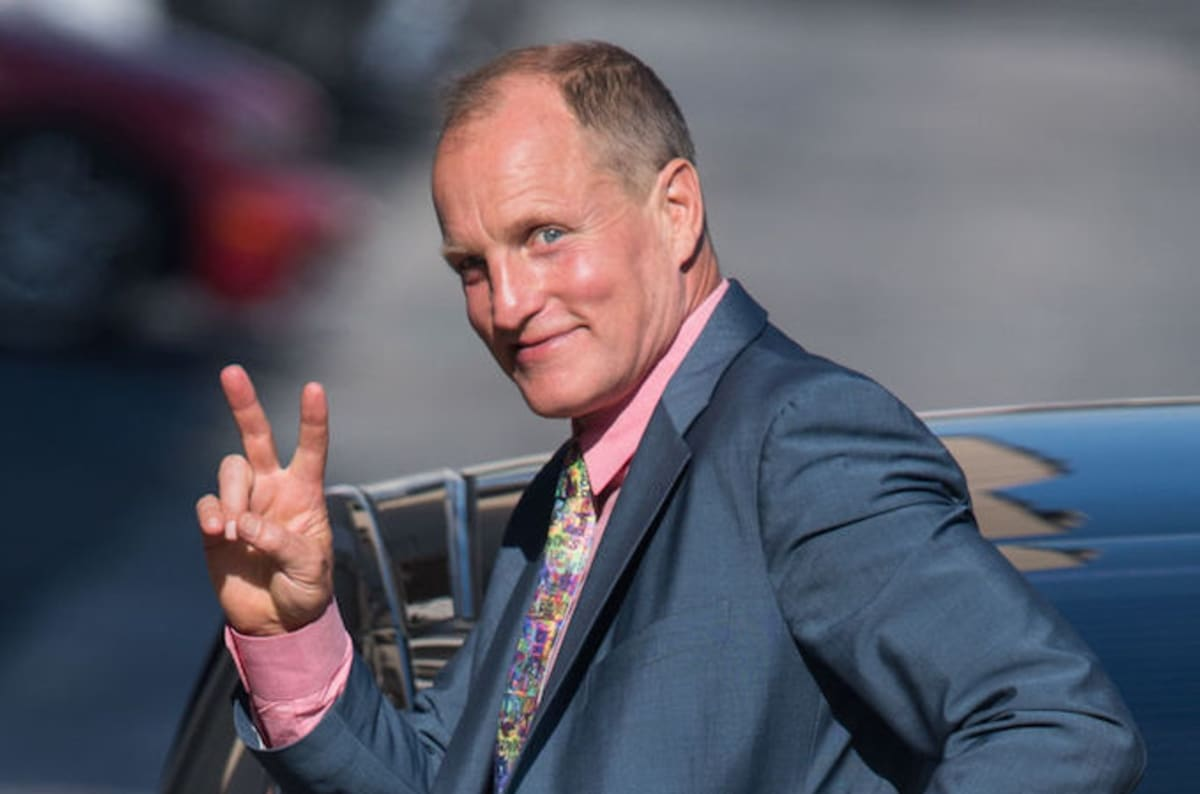 foto Woody Harrelson makes public call for green activism
