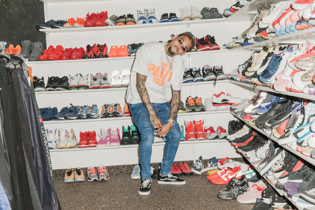 Chris Brown For Complex Closets