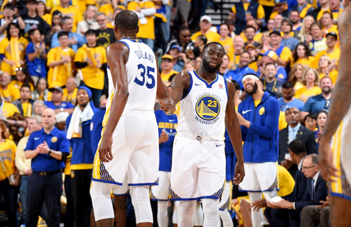 3c2ad77f33c Kevin Durant Explains Why He Told Charles Barkley to See Draymond Green in  Person
