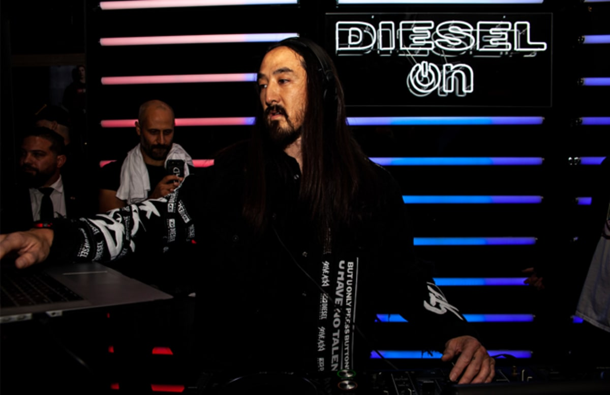 Steve Aoki and Diesel Celebrate the Launch of the Full Guard 2.5