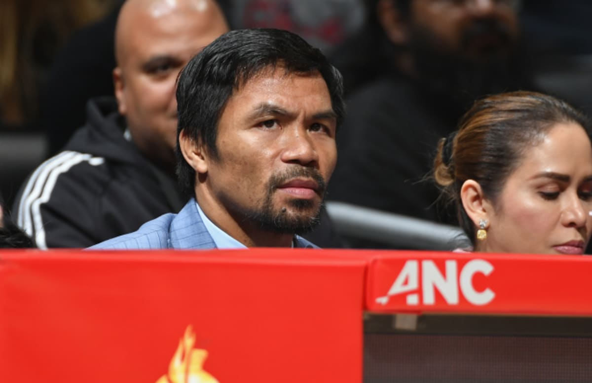 Someone Broke Into Manny Pacquiao's Home a Day After Adrien Broner Fight