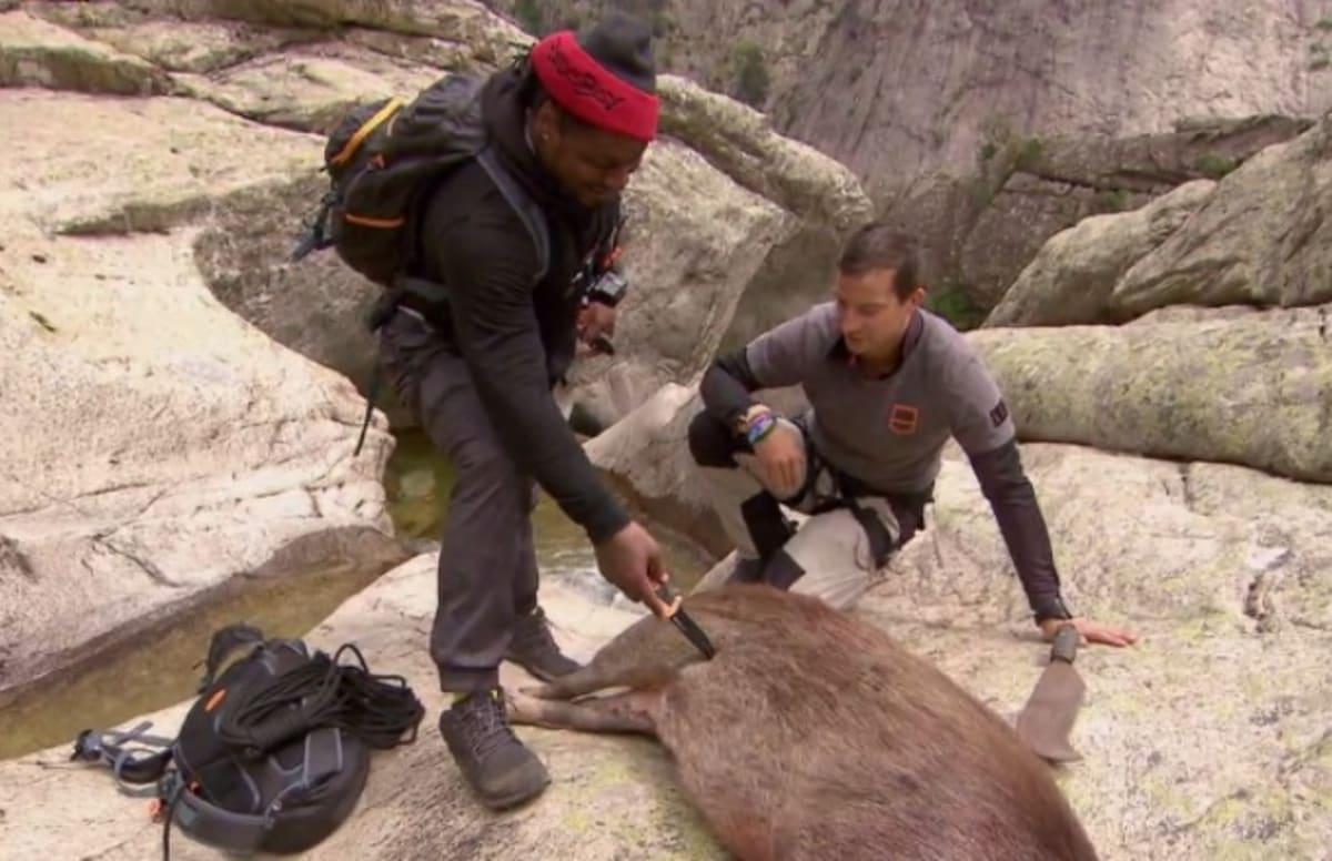 Marshawn Lynchs Appearance On Bear Grylls Was