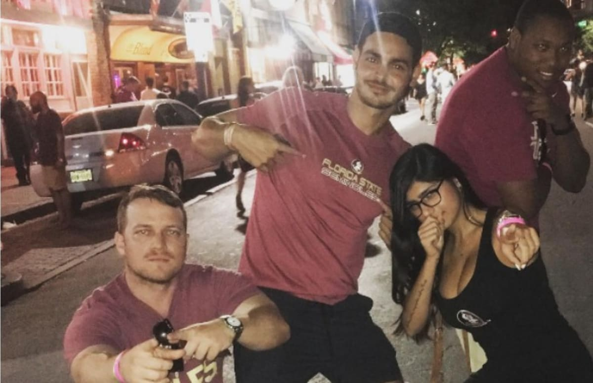 Mia Khalifa Fan Boy
