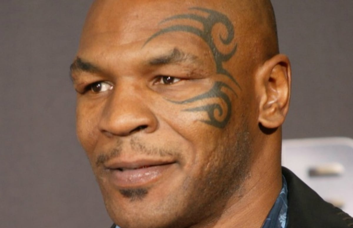 Tyson Face Tatoo: Mike Tyson Doesn't Regret Getting A Tattoo On His Face