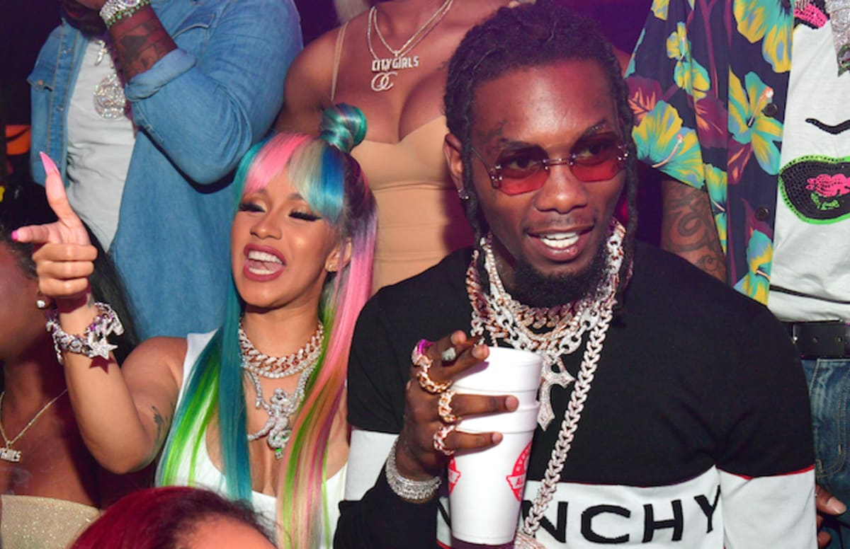 Cardi B Engaged To Offset After Rapper Proposes Live On: Cardi B Claps Back At Those Concerned By Secondhand Smoke