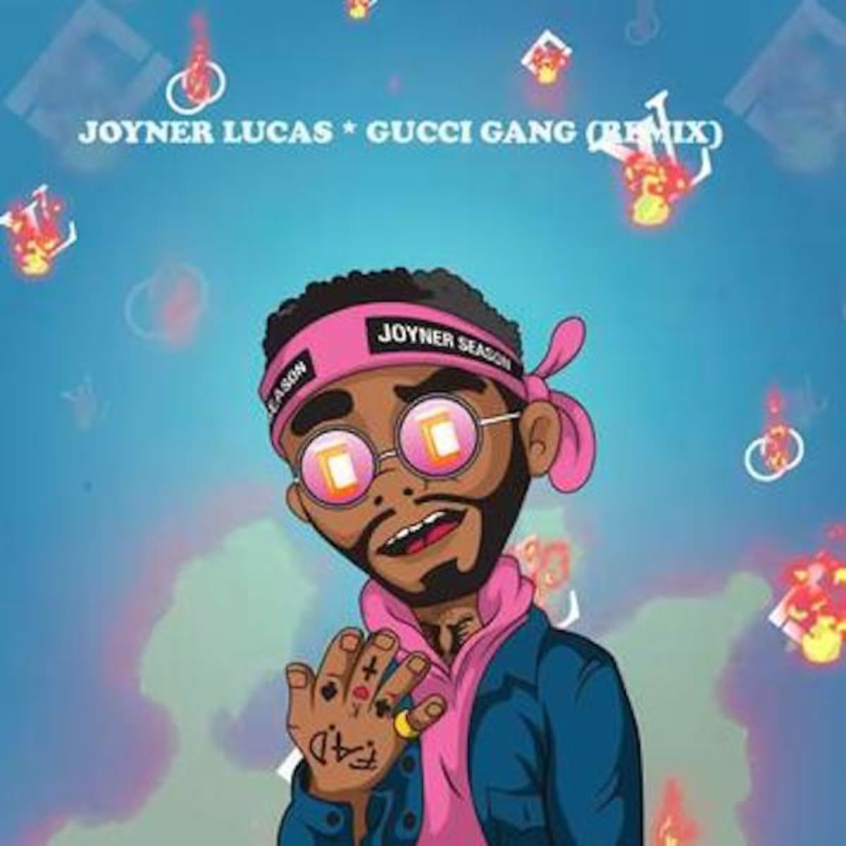 "Joyner Lucas Follows ""I'm Not Racist"" by Dissing Lil Pump on ""Gucci Gang"" Remix"