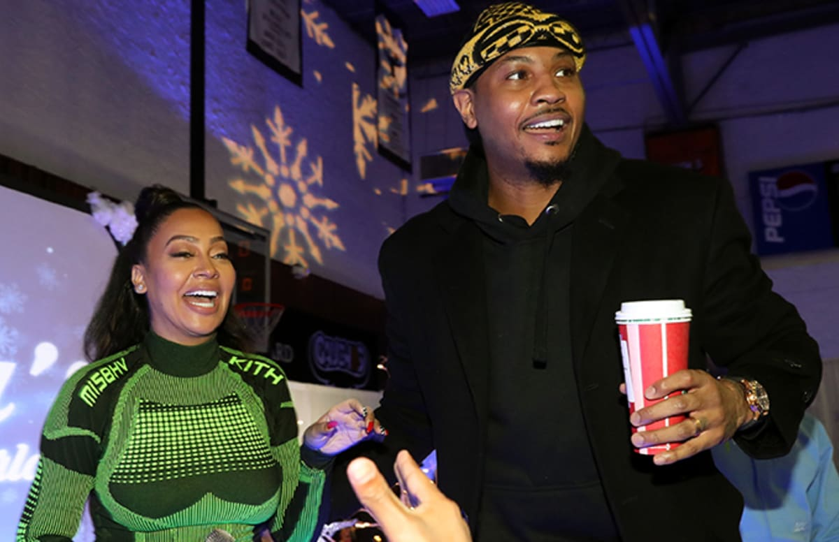 Carmelo Anthony and La La Are Reportedly Back Together ...