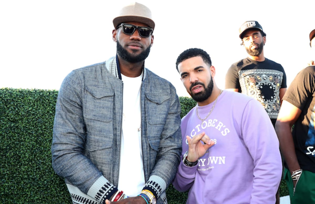 Drake Brings Out Lebron James And Travis Scott During L A