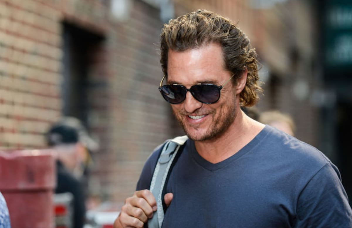matthew mcconaughey struck a pose at a ut basketball practice and instantly became a meme complex. Black Bedroom Furniture Sets. Home Design Ideas