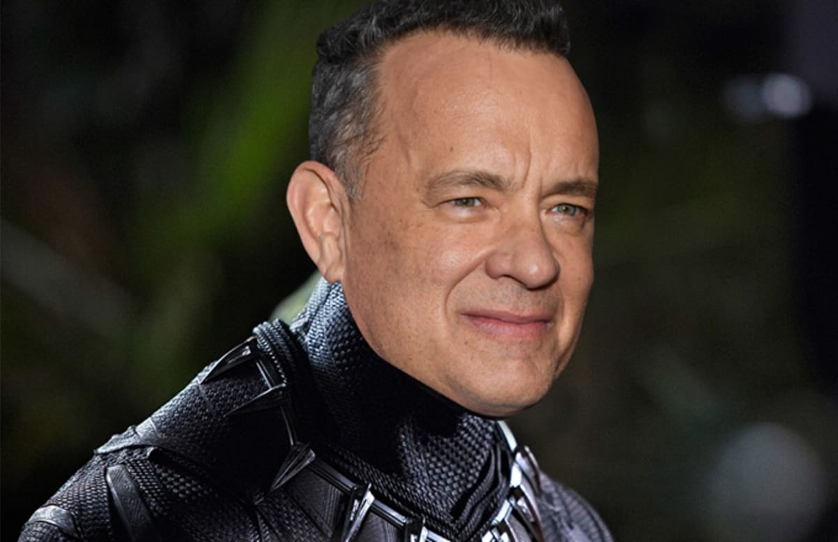 is tom hanks the white chadwick boseman