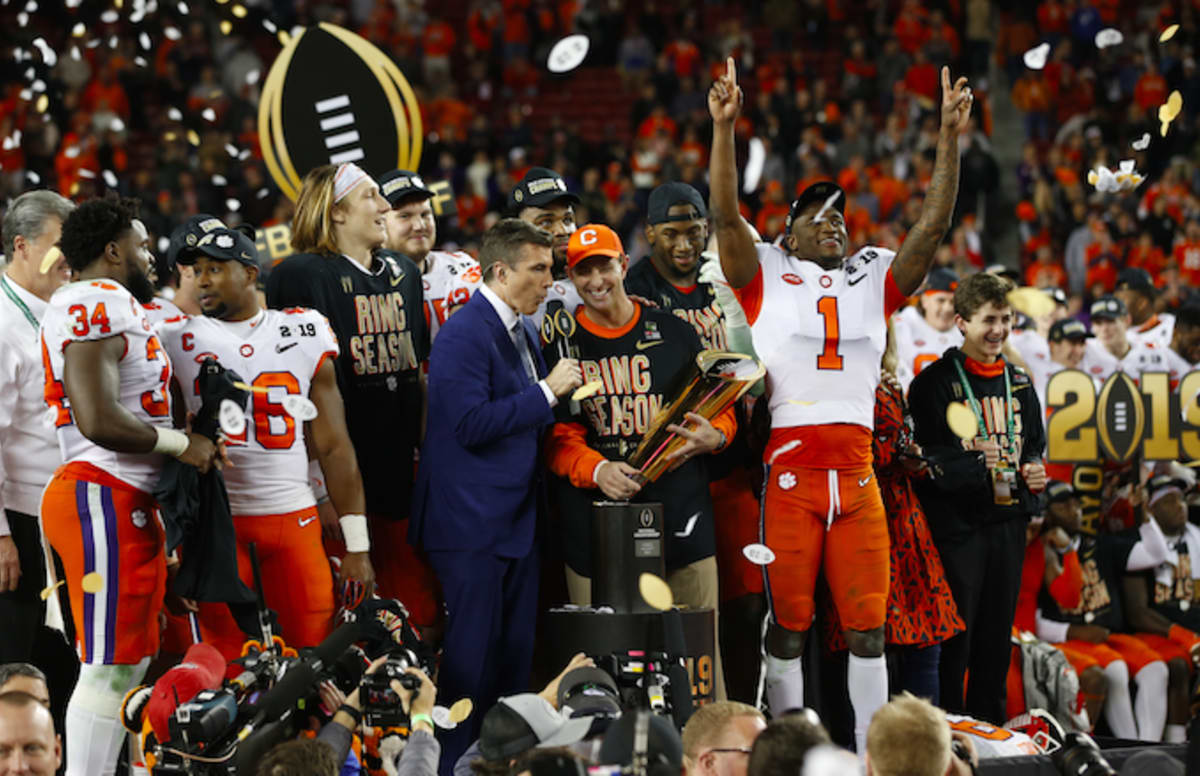Clemson Tigers To Celebrate 2019 CFP Victory At The White