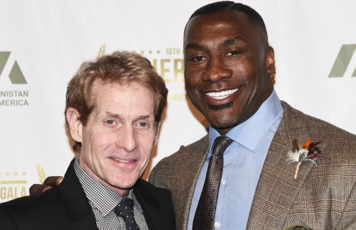 Shannon Sharpe Really Pulled Out a Black and Mild on Live TV and Skip Bayless Was Speechless
