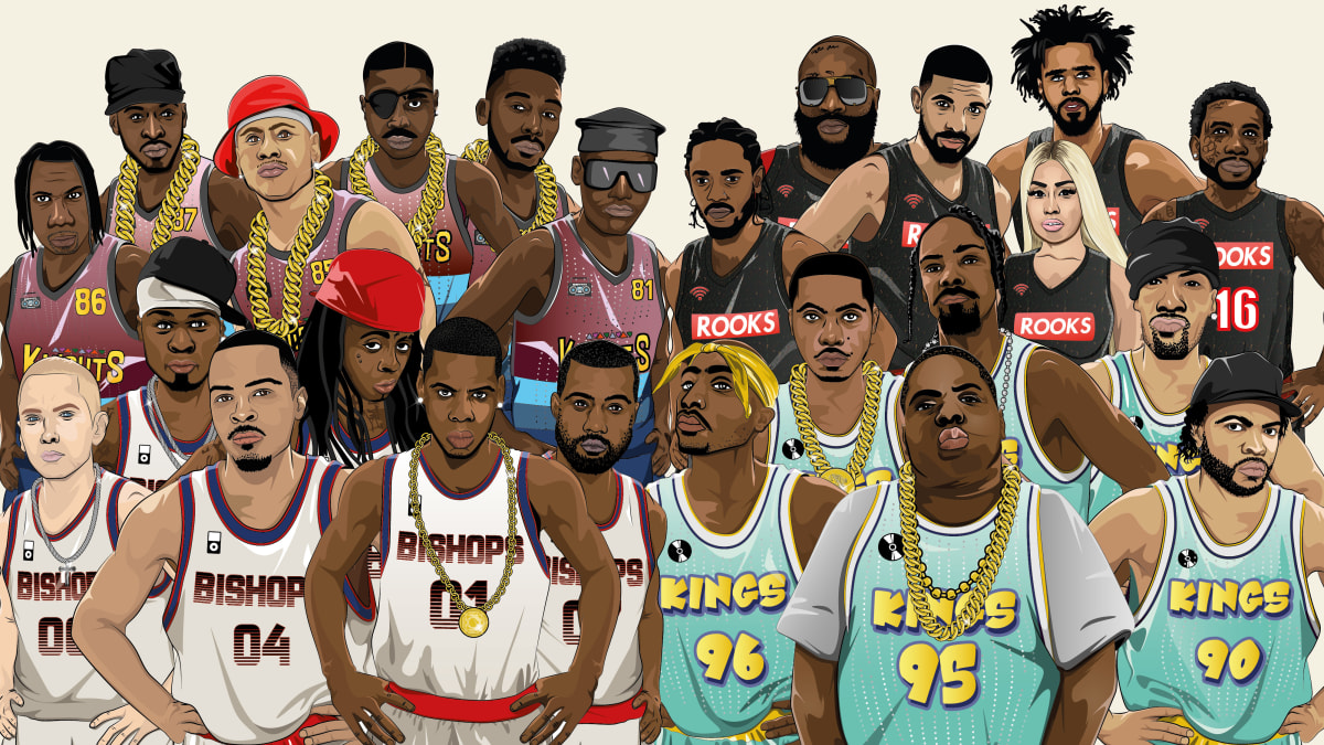 Engineering The Ultimate Rap Superteam Every Decade - 1980s to Present