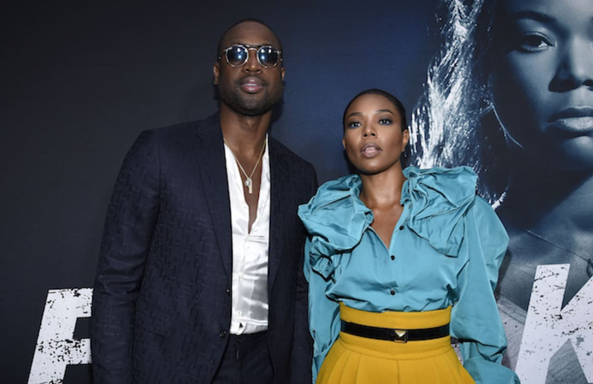 Dwyane Wade Wants To Make A Love Movie With Gabrielle -1748