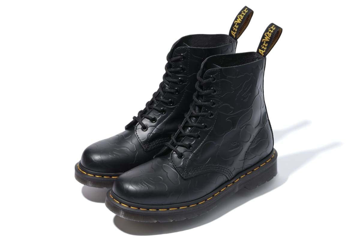Here S What Bape And Dr Martens Cooked Up Together Complex