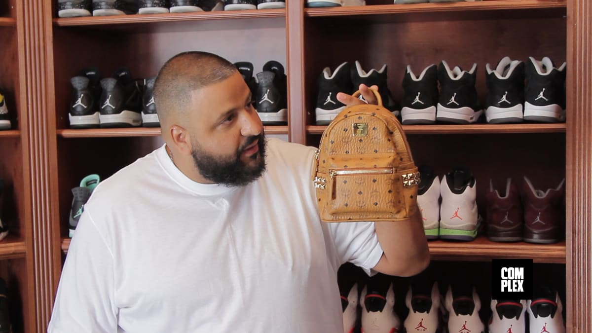 Complex Closets DJ Khaled Shows His Sneaker Closet Part 2