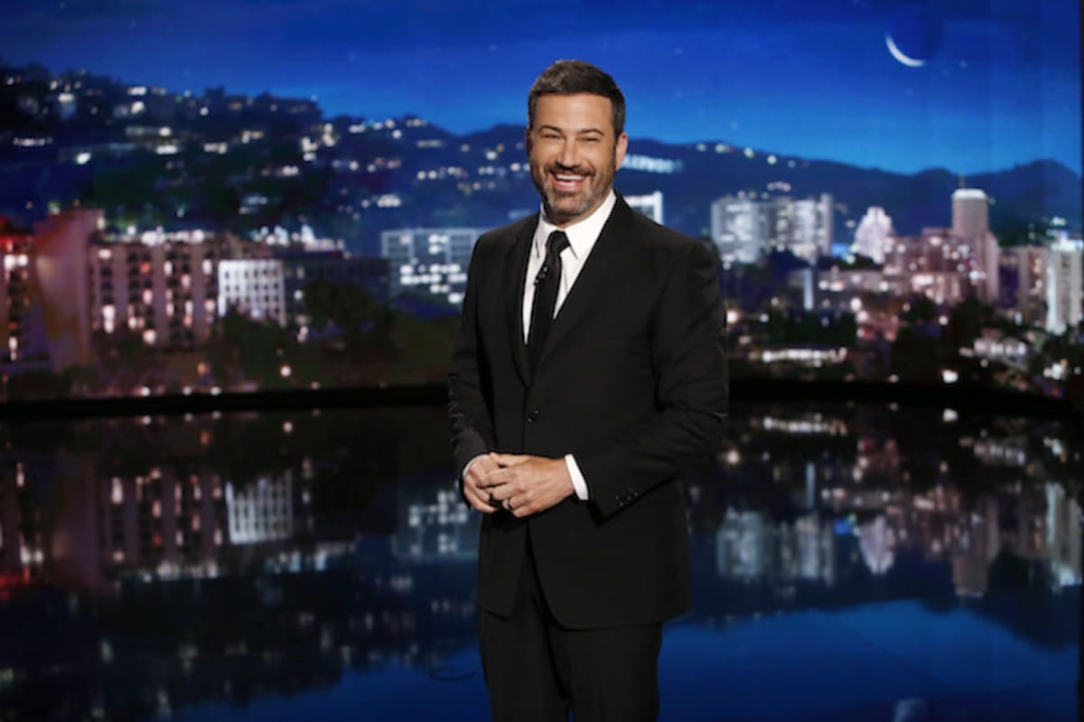 Jimmy Kimmel Asks People to Discuss the 'Crisis' in Wakanda