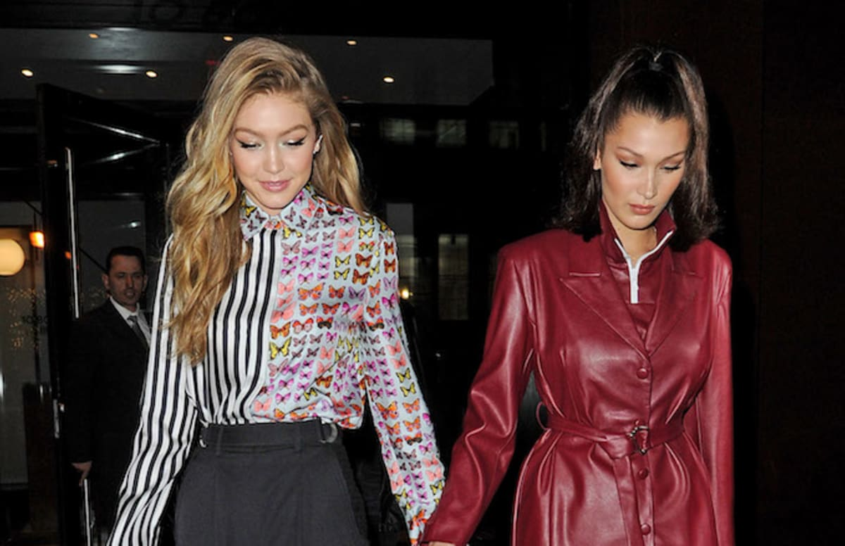 People Are Calling This Nude Photo of Gigi and Bella Hadid Creepy
