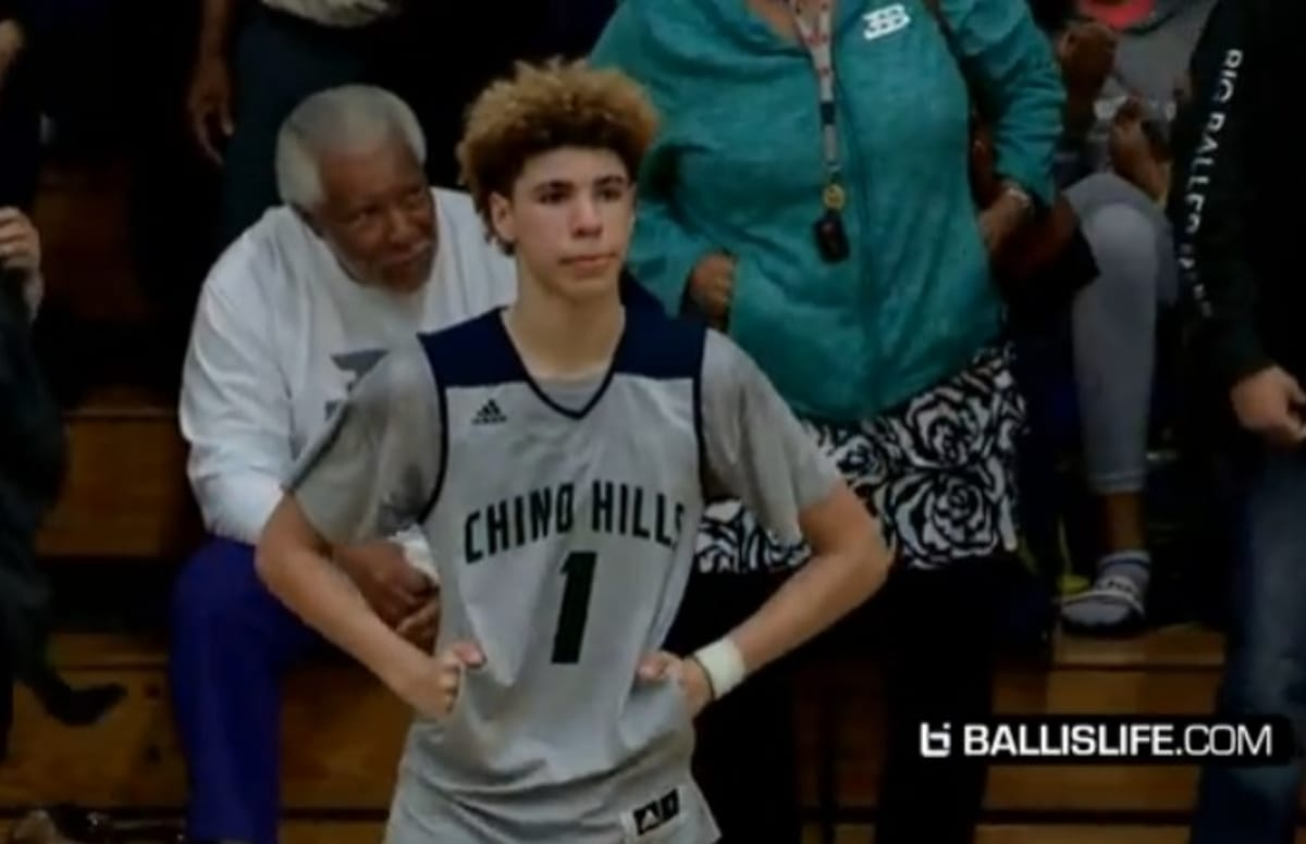 High School Basketball Star LaMelo Ball Drops 92 Points in ...