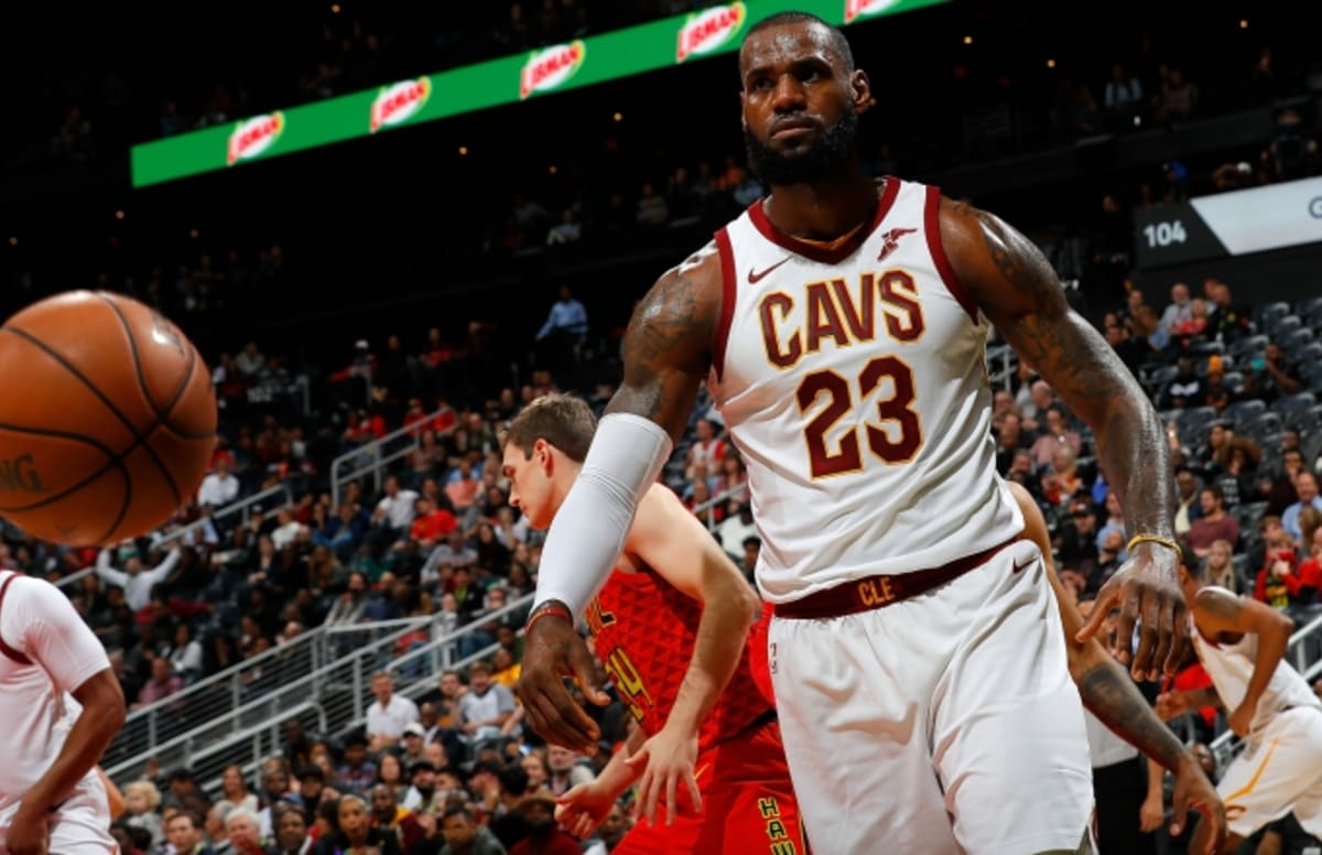 c7e5d2d0913e How LeBron James Is Using  NBA 2K18  to Prepare for Playing With Isaiah  Thomas