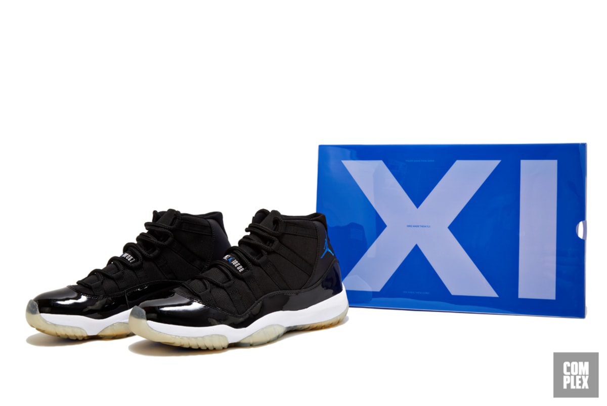"separation shoes 9a471 ff115 How the 2009 Air Jordan XI ""Space Jam"" Changed Sneaker Culture   Complex"