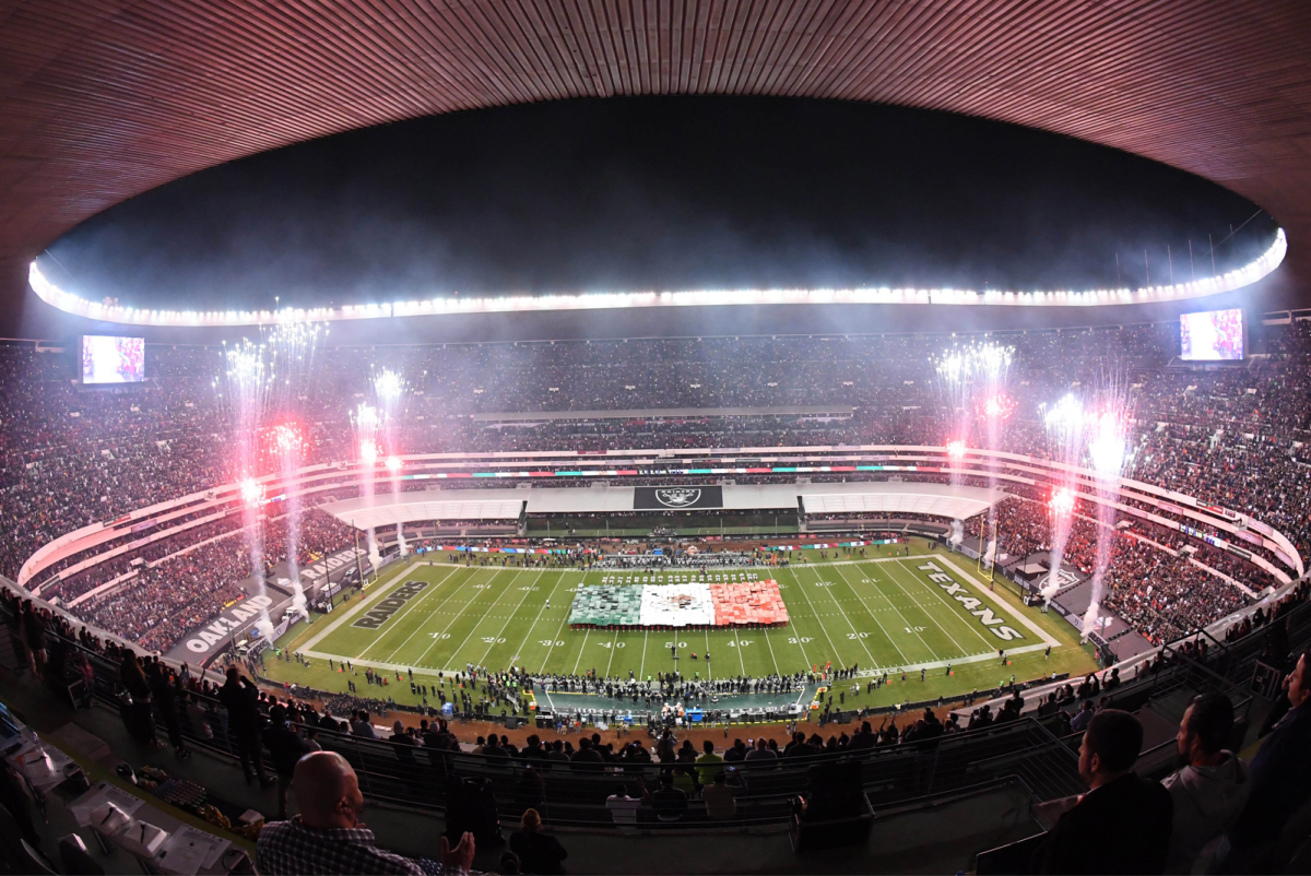 National City Auto Center >> Monday Night Football in Mexico City | Complex