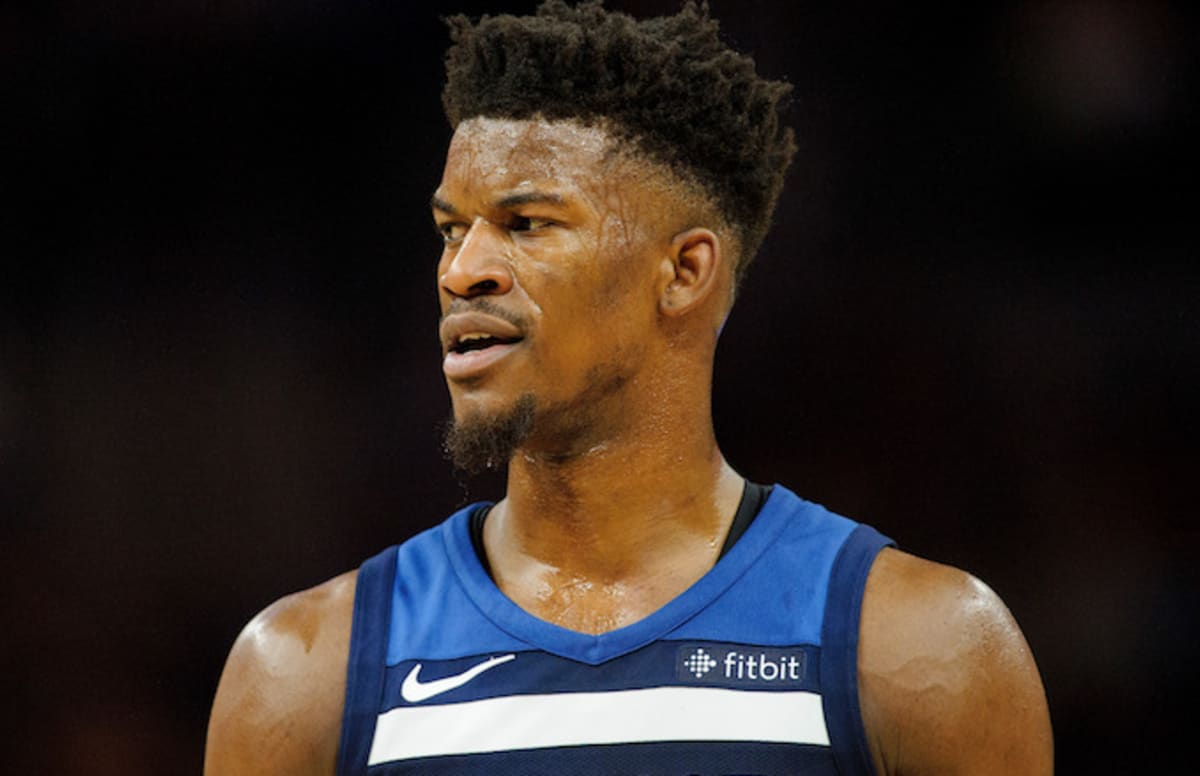 Jimmy Butler Speaks On Timberwolves Practice All My Emotion Came
