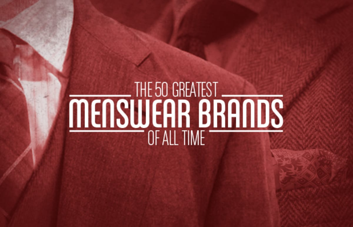The 50 greatest menswear brands of all time complex for Expensive mens dress shirts brands