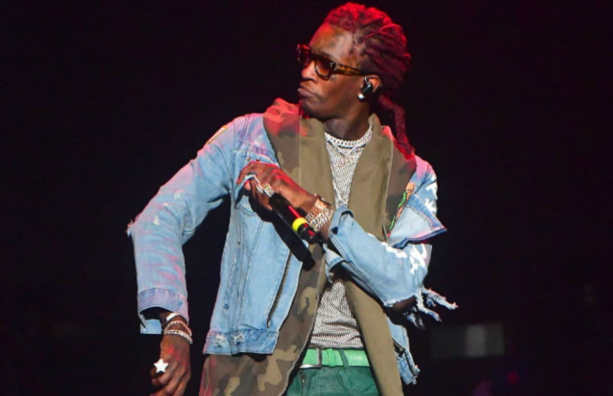 Cover Art and Tracklist for Young Thug's New Album Surface Online