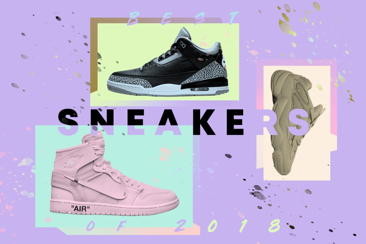 5e07be7ad766 The Best Sneakers of 2018
