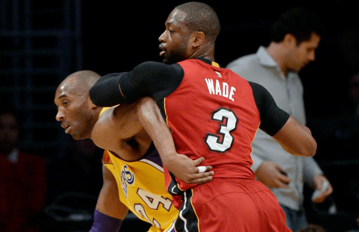 Dwyane Wade Remembers Kobe Telling Him 'I Love It' After Wade Broke His Nose