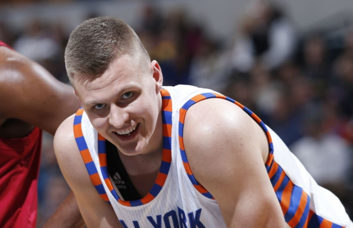 535ceed67fe Kristaps Porzingis Thought Kevin Durant Was Calling Him  A Horse With a  Pony Tail