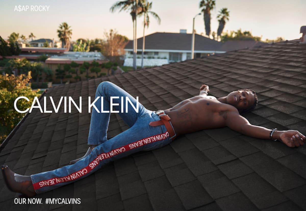ASAP Rocky Stars in the Spring 2019 Calvin Klein Jeans + Underwear Campaign