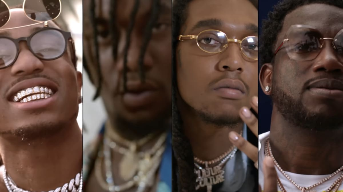 "Miami Auto Show >> Migos and Gucci Mane Live It Up in New Video for ""Slippery ..."
