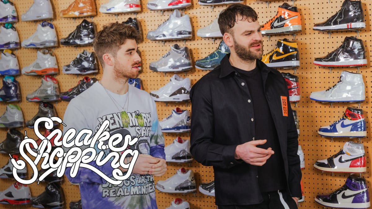 The Chainsmokers Go Sneaker Shopping With Complex | Sneaker Shopping