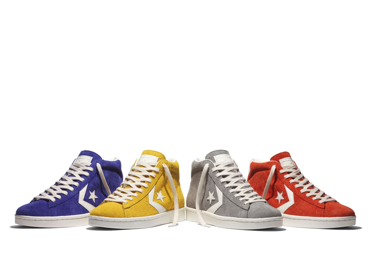Converse Set To Release Pro Leather '76 Mono & Vintage Suede Collections
