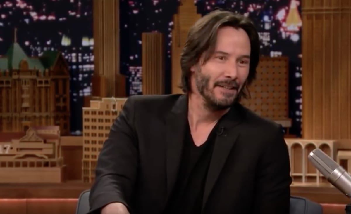 Keanu is everyone keanu reeves pictures - Keanu Reeves Appears On The Tonight Show Starring Jimmy Fallon