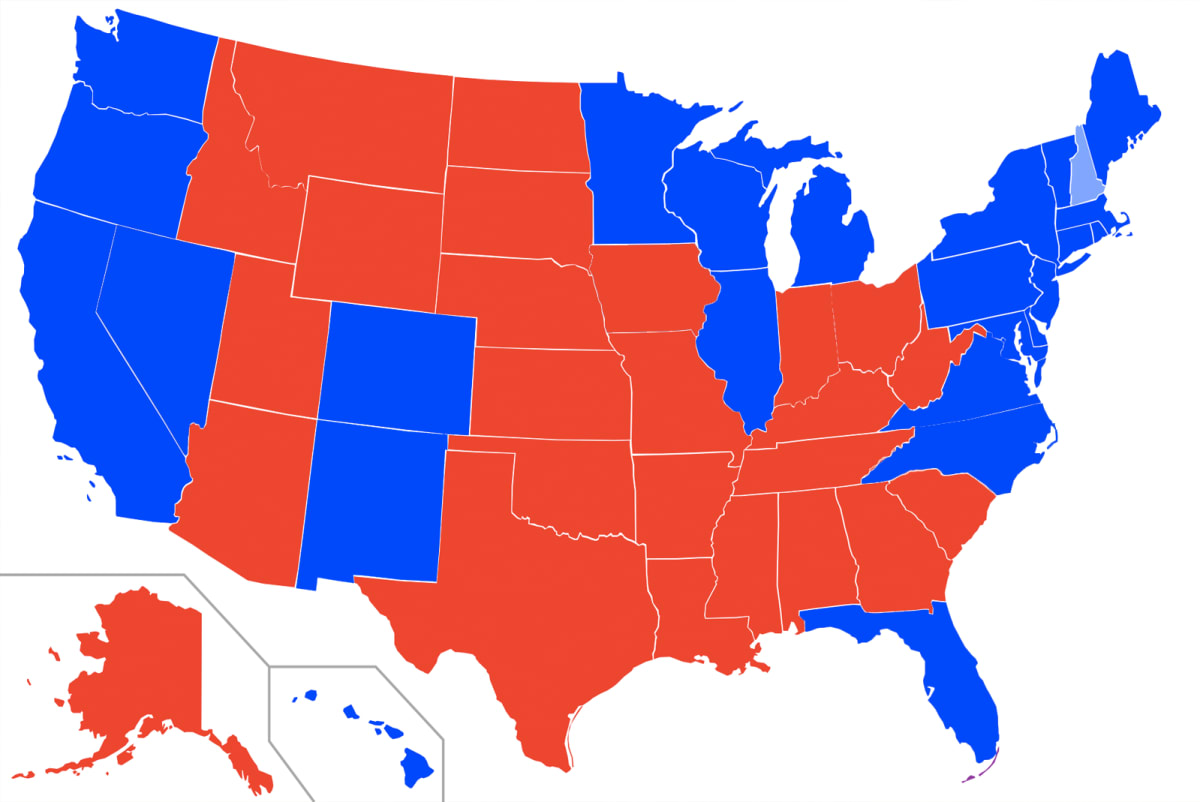 Red States Versus Blue States: Who's Better at Sports in ...