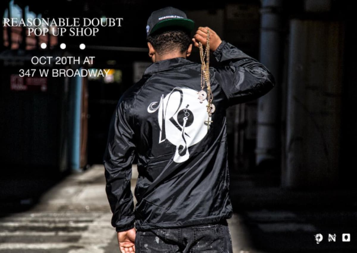 Reasonable Doubt 20th Anniversary Pop Up Shop Hits Nyc