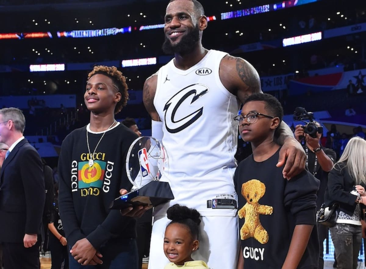 7efc9d42381 LeBron James Wants To Play in the NBA With Bronny