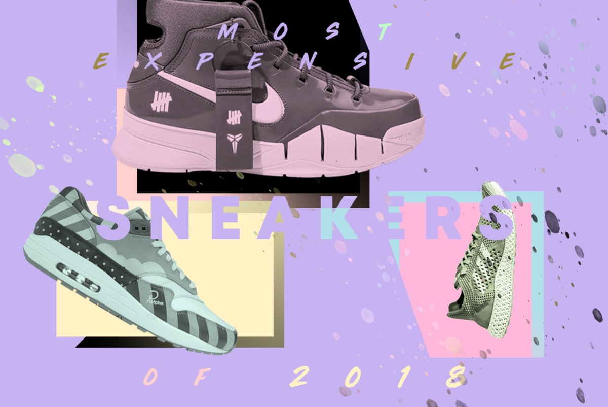 half off 55b61 4e20d 10 Most Expensive Sneakers of 2018   Complex