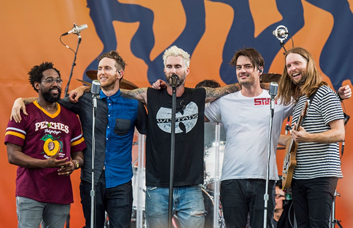 Maroon 5 Hairstyle: Maroon 5's PJ Morton On Super Bowl Performance: 'We're Not