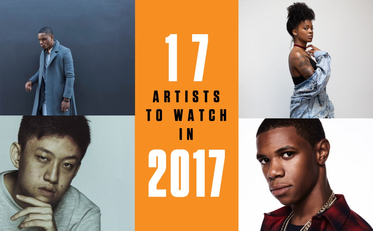 17 Artists to Watch in 2017